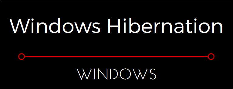 Windows Hibernate Function