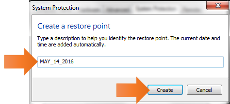 windows system restore-system protection